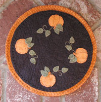 Pumpkin Penny Rug/Tree Skirt E-Pattern