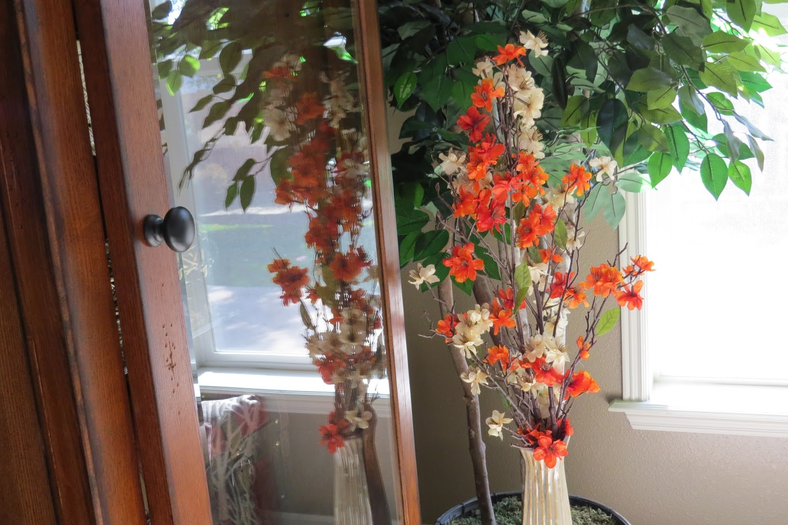 Fall Floral Home Decor, Rustic Home Decor