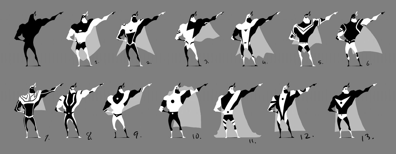 superhero designs round 2 sketchgeek