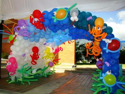 Decoracion de fiestas con globos decorando mejor - Adornos con globos para fiestas ...