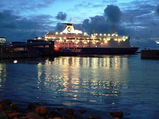 Night Ferry in Kristiansand