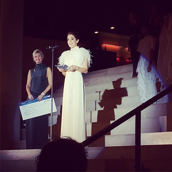 Princess Mary Attended Danish Design Talent, Magazine Prize