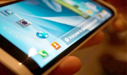 Layar lengkung Galaxy Note 4 Samsung OLED Youm