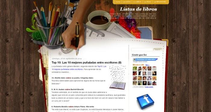 http://listasdelibros.blogspot.com