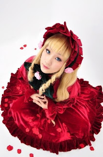 Koyuki Cosplay as Shinku from Rozen Maiden