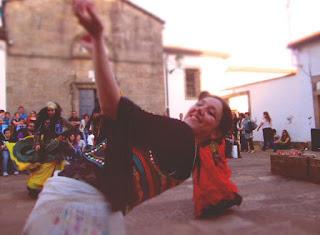 danza oriental feria de san pedro, santiago de compostela