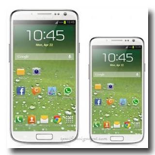 Perbandingan  Samsung  Galaxy S4 Mini