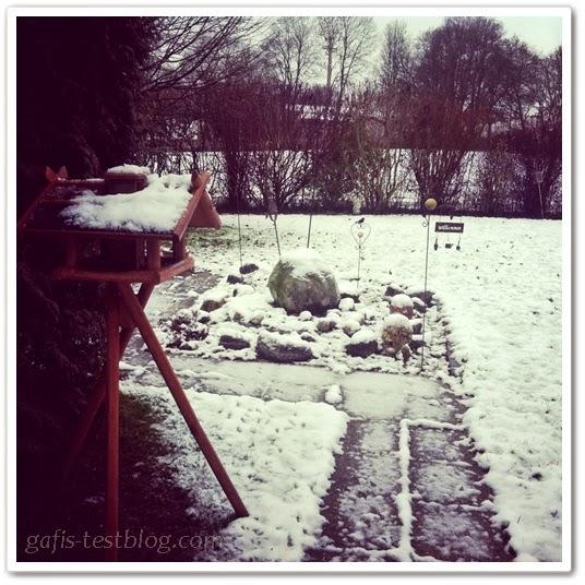 Unser Garten Januar 2014