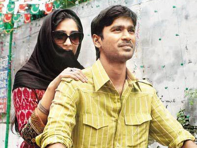 Sonam Kapoor and Dhanush in Raanjhnaa