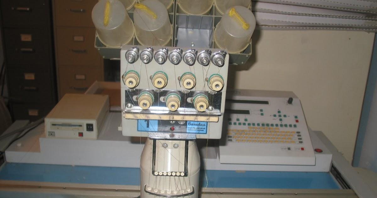 barudan beat iv embroidery machine
