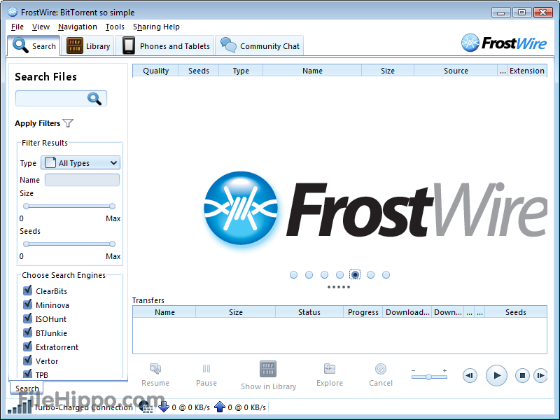 how to download non torrent fiels trhough qbittorrent