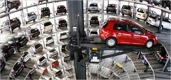Parkiran Mobil Otomatis