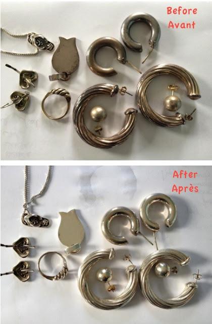 les astuces de f e paillette comment nettoyer ses bijoux. Black Bedroom Furniture Sets. Home Design Ideas