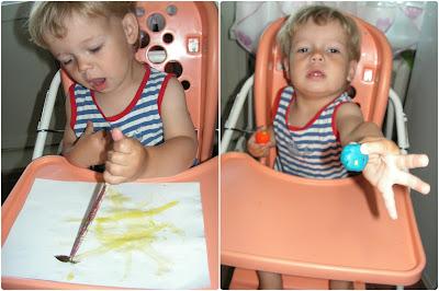 Развивающее занятие для ребенка 2 лет.