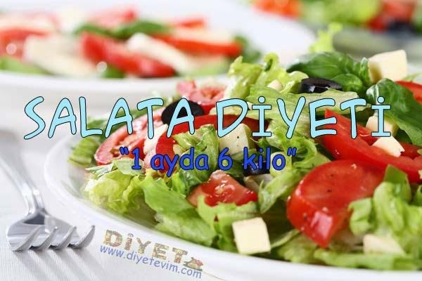 salata diyeti ile zayıflama