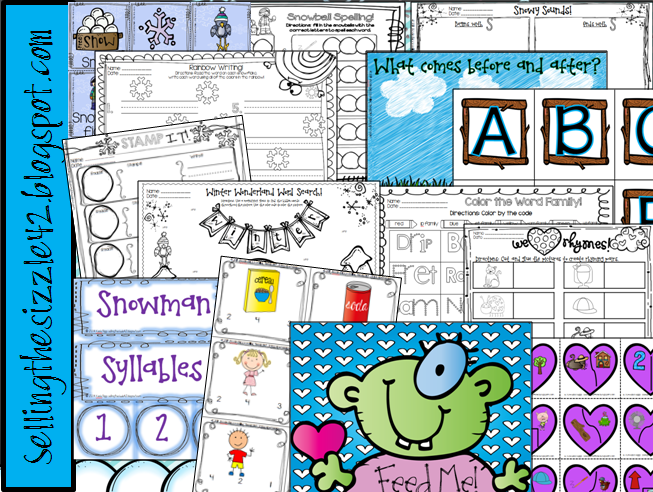 http://www.teacherspayteachers.com/Product/Winter-Centers-27-ELA-and-Math-Differentiated-and-Common-Core-Aligned-Centers-1106802