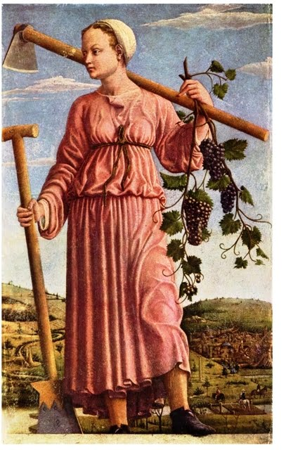 Der Herbst (Die Muse Polyhymnia) - Francesco del Cossa - from http://commons.wikimedia.org/wiki/File:Francesco_del_Cossa_001.jpg
