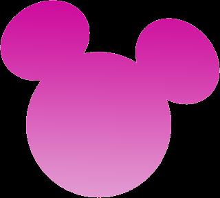 Cabeza minnie mouse para imprimir