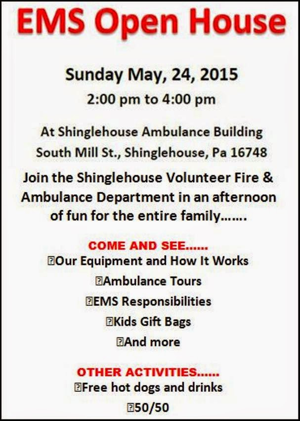 5-24 EMS Open House, Shinglehouse
