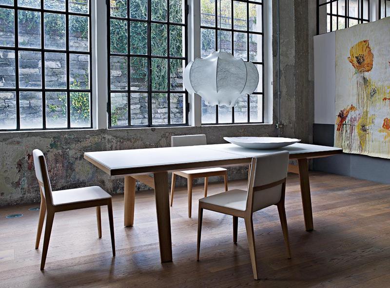 mesas de madera blanca ideas para decorar dise ar y mejorar tu casa. Black Bedroom Furniture Sets. Home Design Ideas