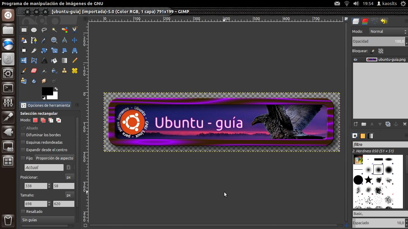 ubuntu-guia: Instalar GIMP, editor de imágenes en ubuntu 12.04