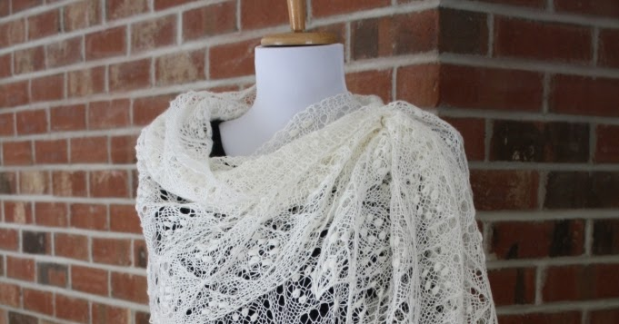 Quatrefoil Knitting Pattern : All Knitted Lace: Pattern Release: Quatrefoil Lace Scarf