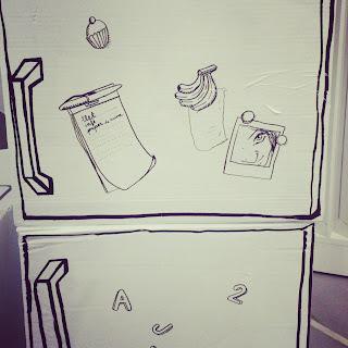 Muebles de cartón para niños