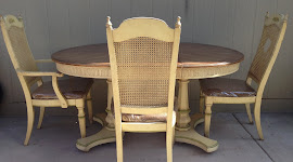 Kitchen Table with Five Chairs ($65)