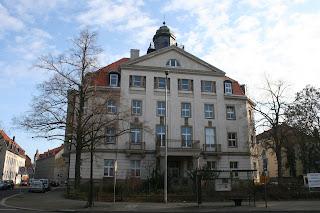 damals Rathaus Paunsdorf - jetzt Veterinär- und Lebensmittelaufsichtsamt