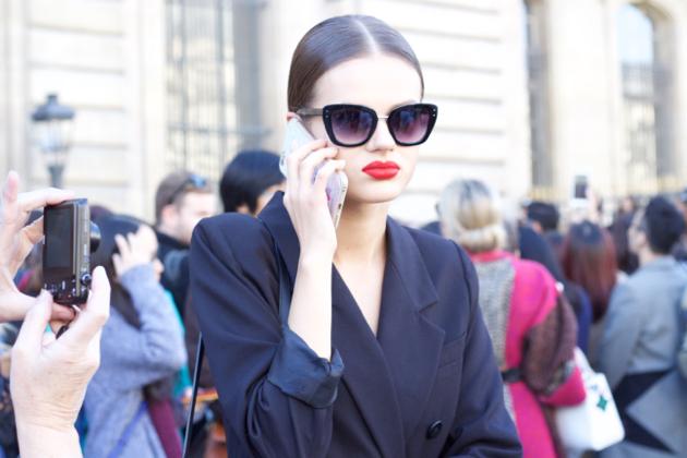 close-up- shades and jacket as shirt