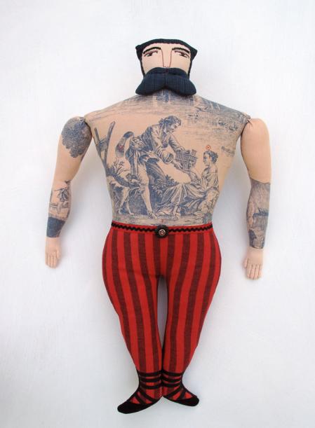 Mimi Kirchner's tattoed dolls width=100%  /></a></div> <div class=