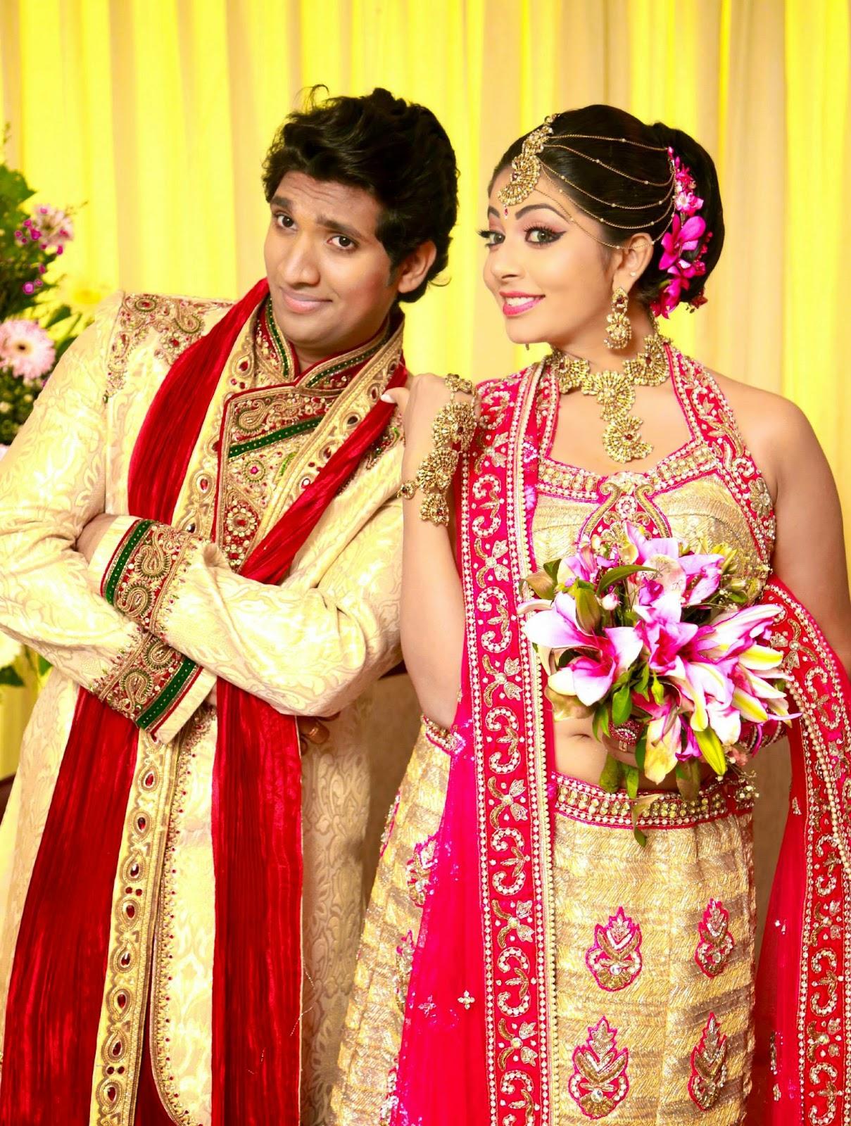 Udari and Sangeeth
