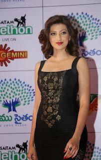 Hamsa Nandini Latest Pictures in Long Dress at Memu Saitam Dinner with Stars Red Carpet ~ Celebs Next