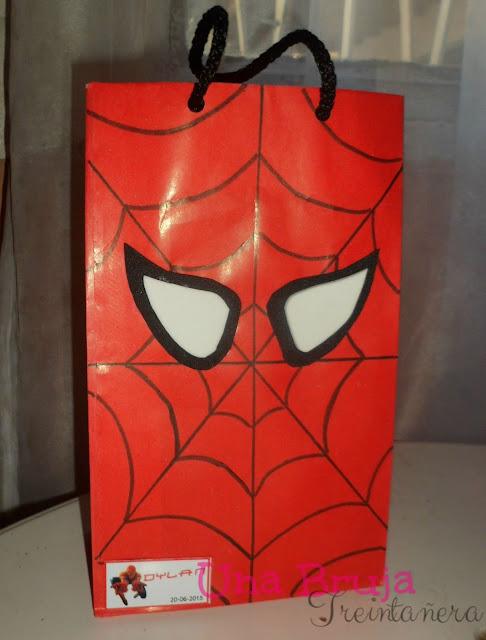 dulcero hombre araña