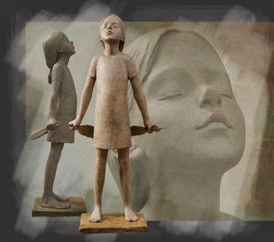 Berit Hildre - скульптуры
