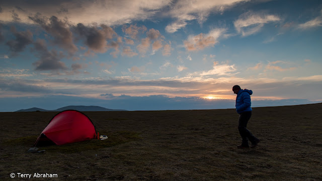 Hilleberg Enan tent wild camping Blencathra Lake District