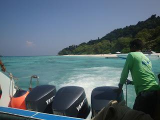 day trip to Koh Tachai Thailand