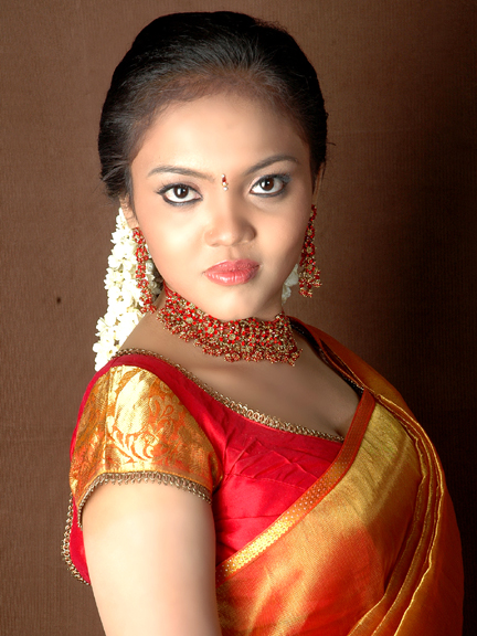 Actress Nikisha Desi Traditional Styles Spicy Stills Photo Shoots unseen pics