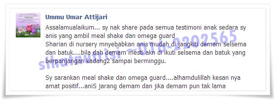 Omega Guard Shaklee minyak ikan terbaik di Dunia