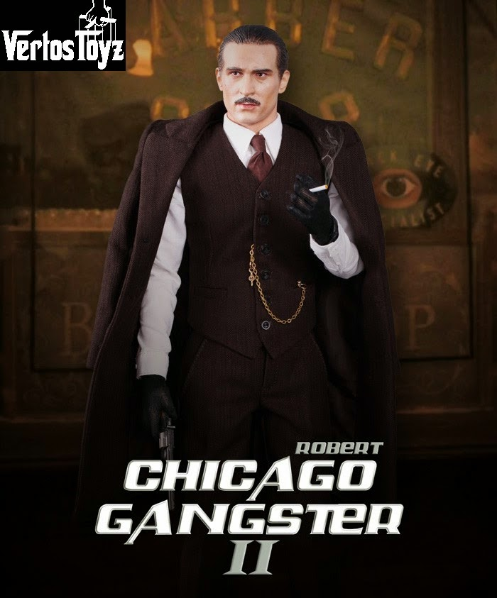 IN STOCK DID Chicago Gangster II - Robert 1/6 Scale