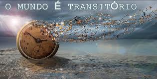 O mundo é transitório - Relógio se desfazendo
