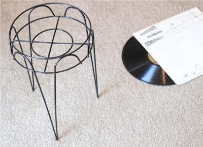 reciclar disco de vinilo