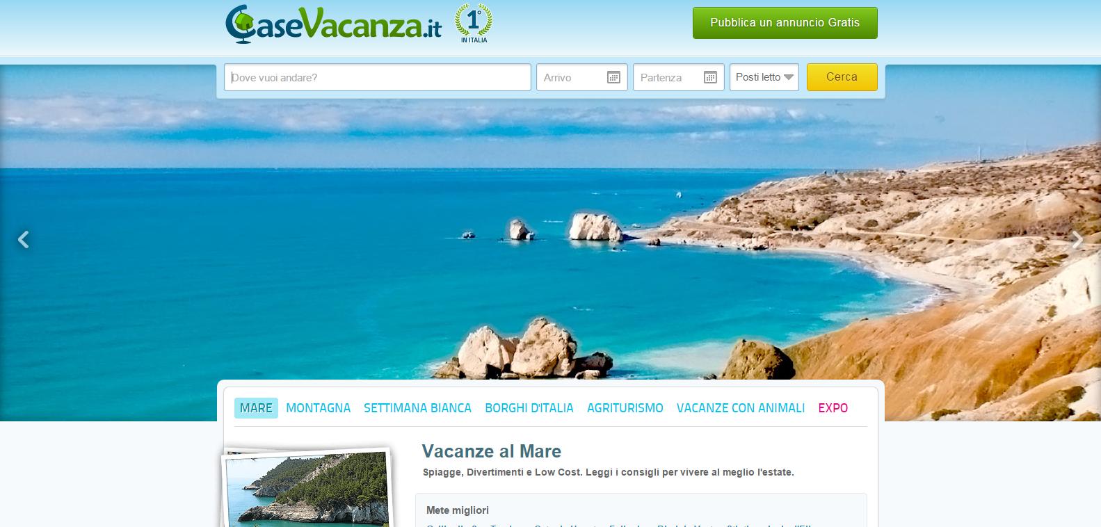 siti casa vacanze italia