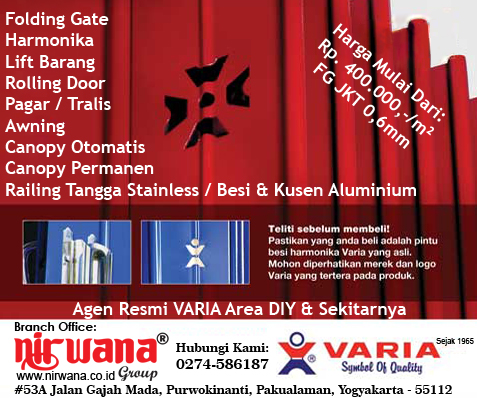 Collection Folding Door Pvc Yogyakarta Pictures - Losro.com
