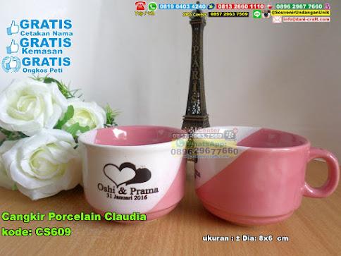 Cangkir Porcelain Claudia