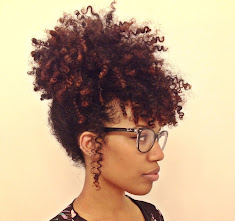 styles to do with natural hair Easy Pineapple Updo for Natural Hair Curly Nikki Natural Hair Care