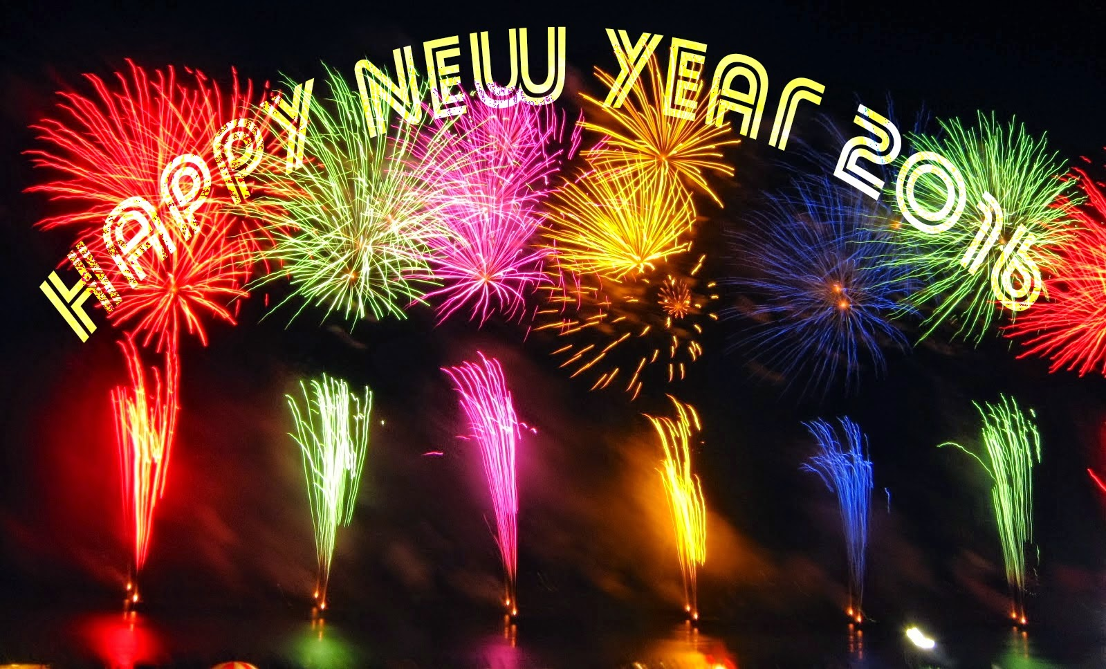 happy new year 2016 hd wallpapers fireworks happy new year