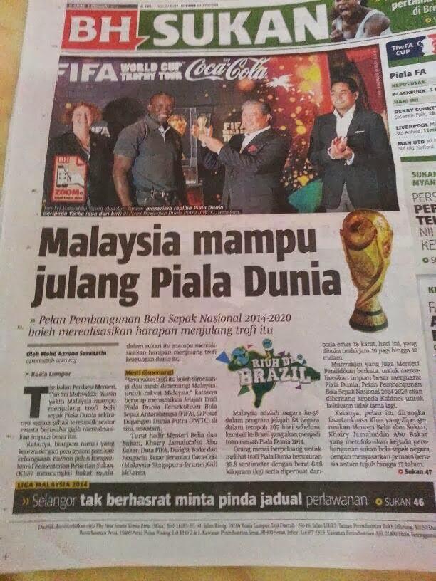 malaysia julang piala dunia