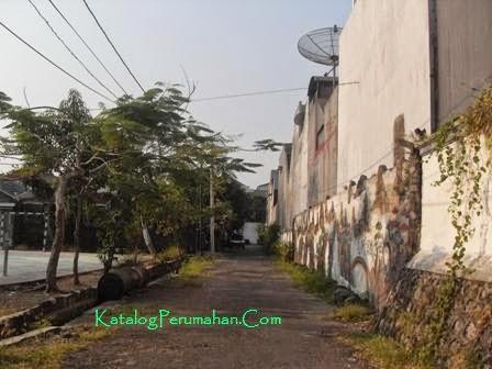 Gang pojok Puri Lidah Kulon Indah