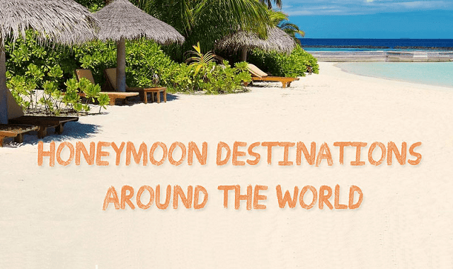 Image: Honeymoon Destinations Around The World